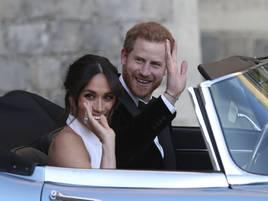 Britisches Königshaus: Herzogin Meghan und Prinz Harry erwarten erstes Kind