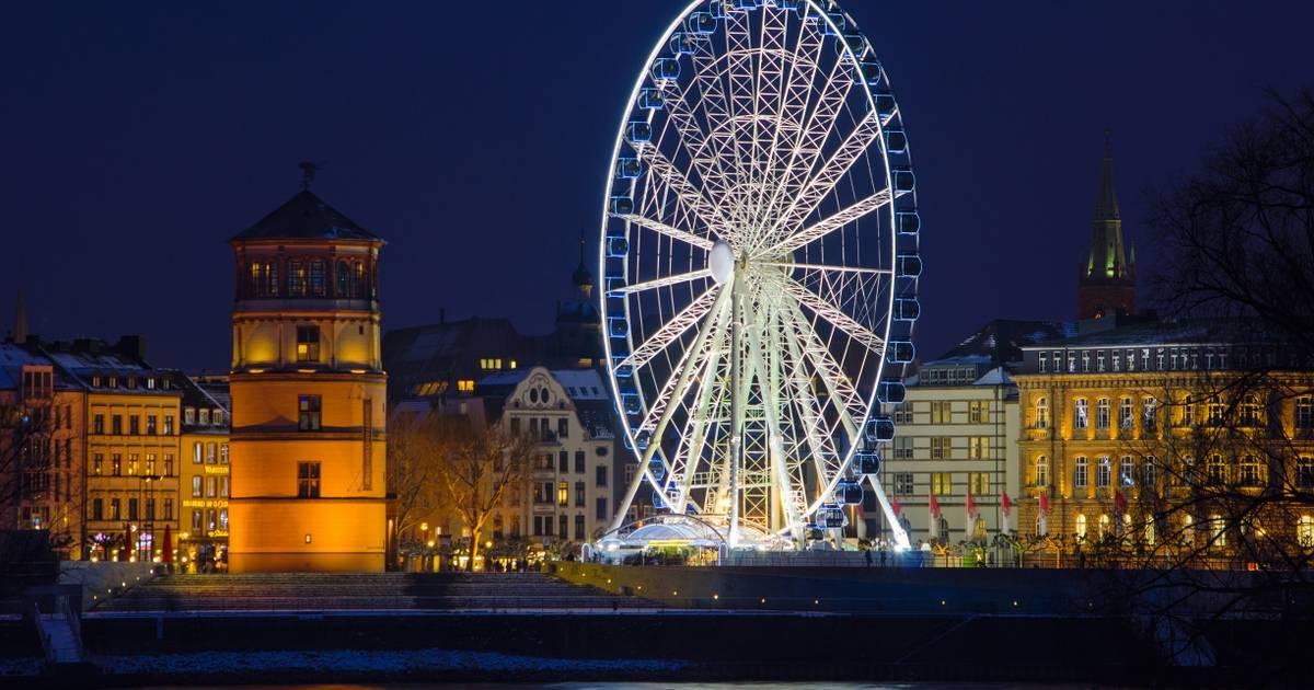 Riesenrad Düsseldorf 2018 Infos Und Preise Zum Wheel Of Vision Auf