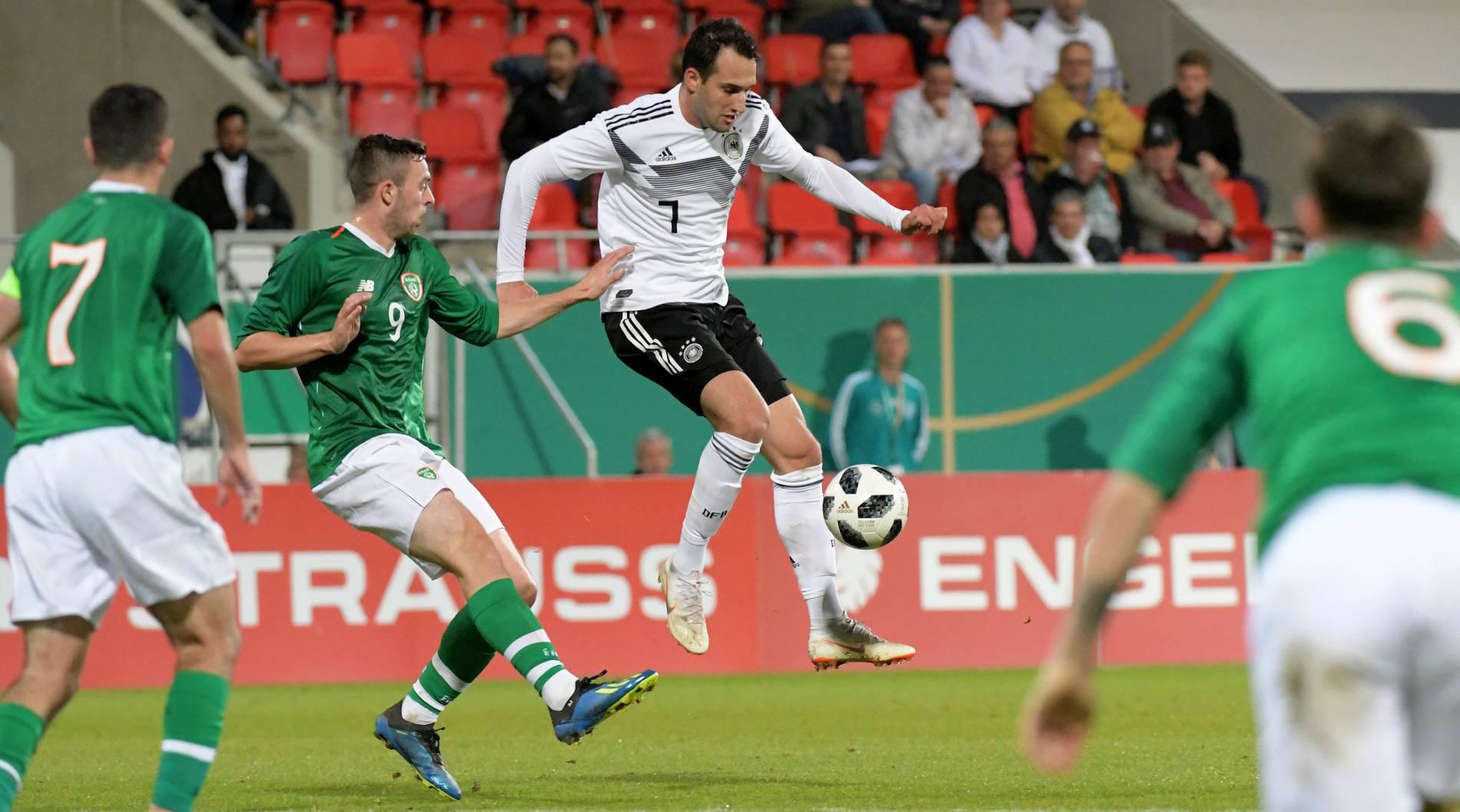 Em Qualifikation Deutsche U21 Gewinnt Gegen Irland Mit 2 0