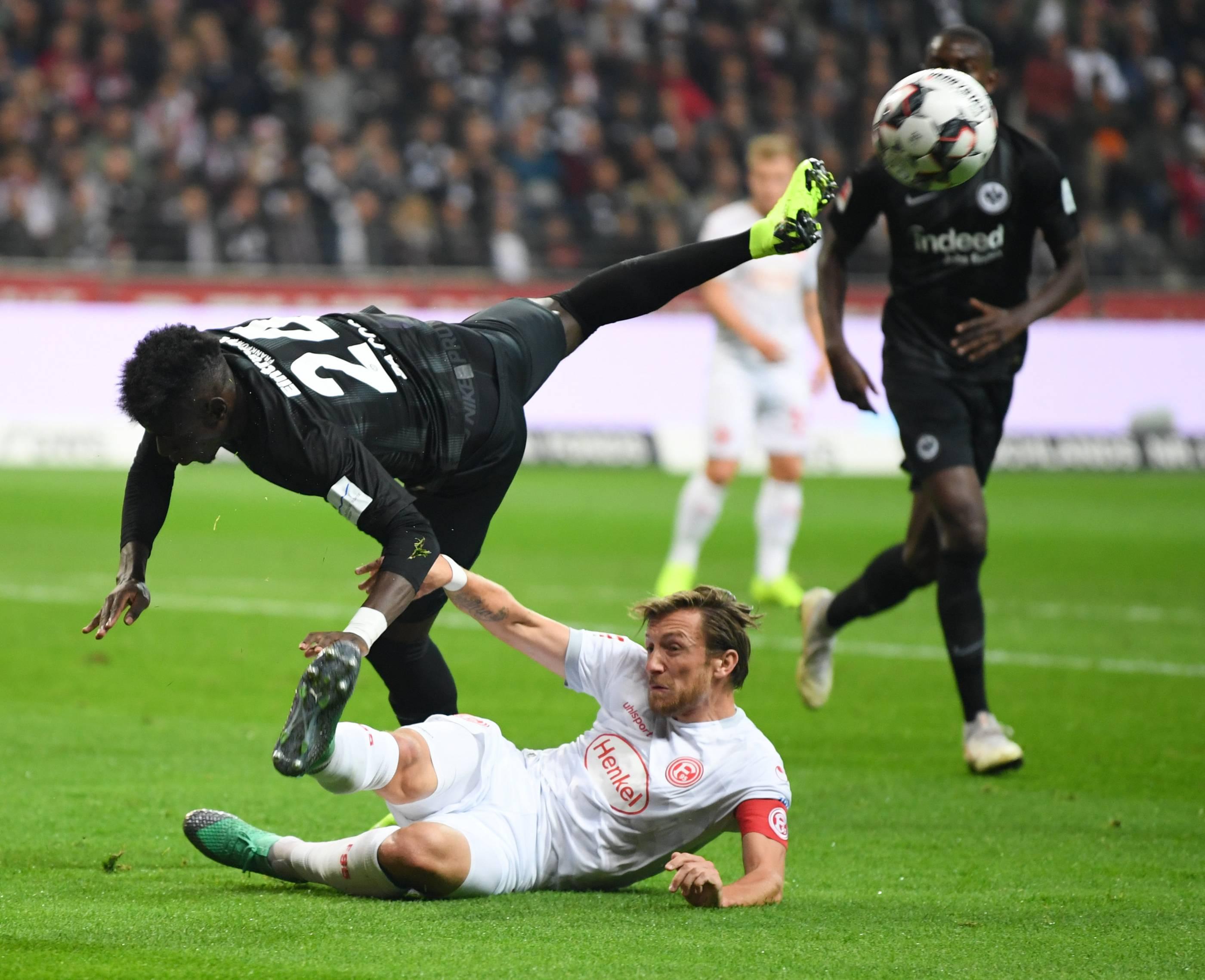 Düsseldorf Eintracht Frankfurt
