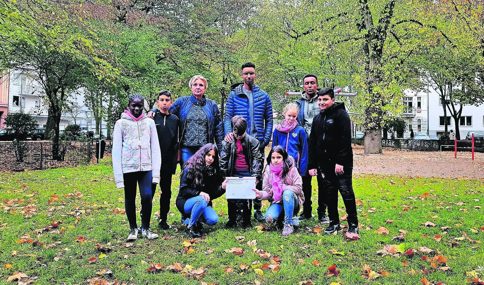 Klettergerüst Ab 1 Jahr : Schulhof erhält neues klettergerüst mannheimer morgen