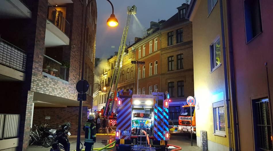 Feuer Köln Südstadt