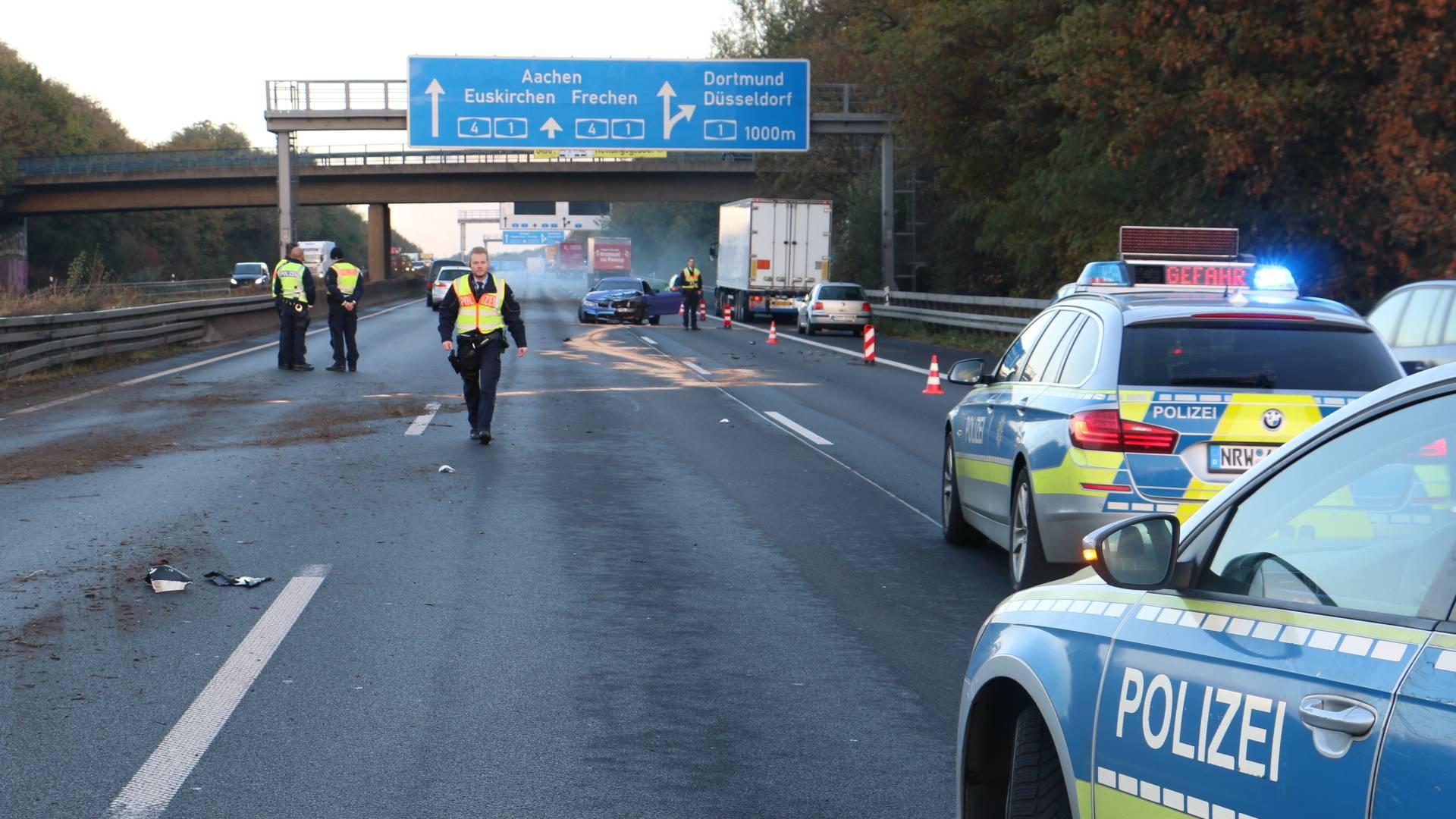 Unfall A4 Köln