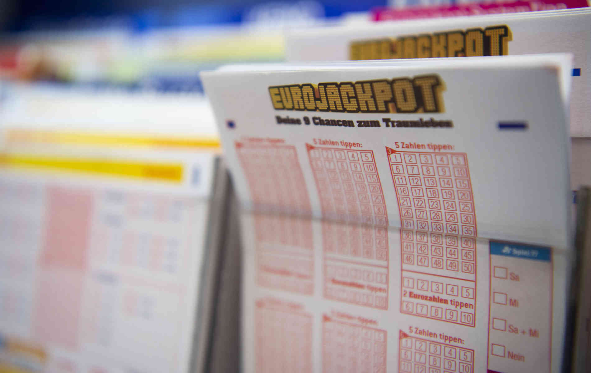 90-Millionen-Eurojackpot: Schon das neunte Mal in Folge nicht geknackt