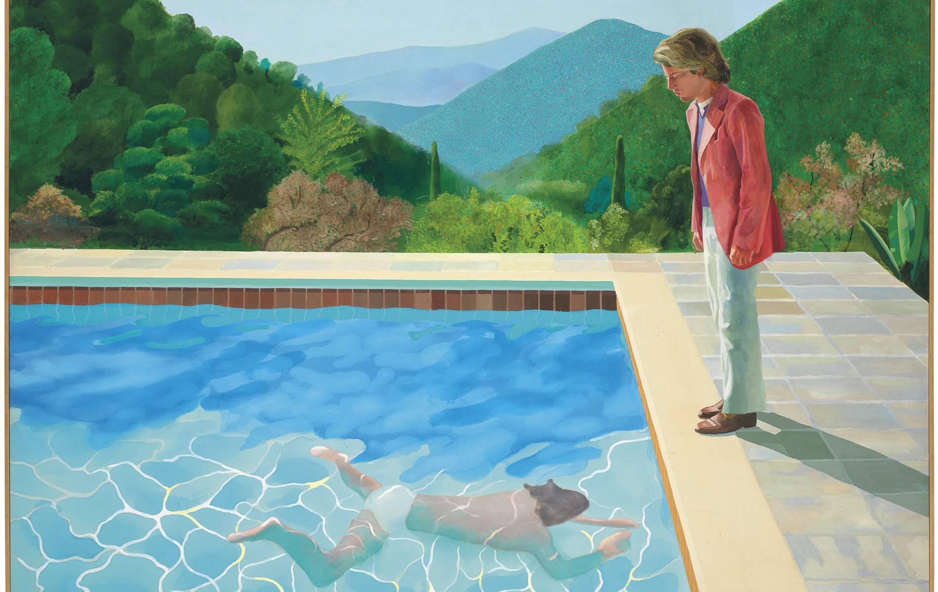 David Hockney bricht mit Pool-Bild Preisrekord