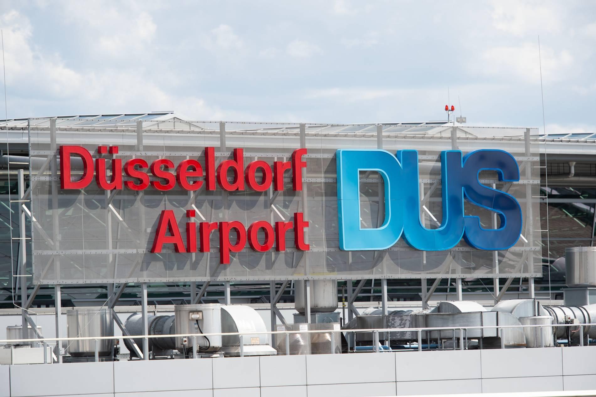 Streik Düsseldorf Flughafen 2021