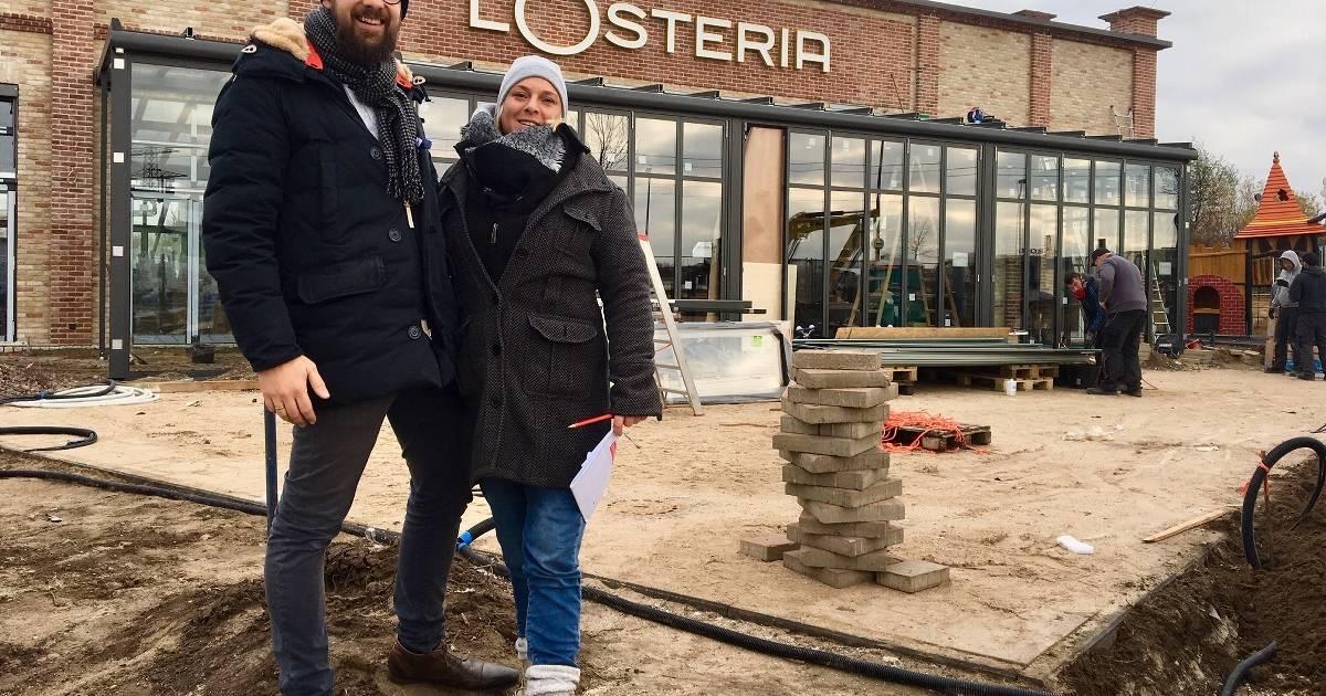 Das Restaurant L Osteria Eroffnet An Der Theodorstrasse