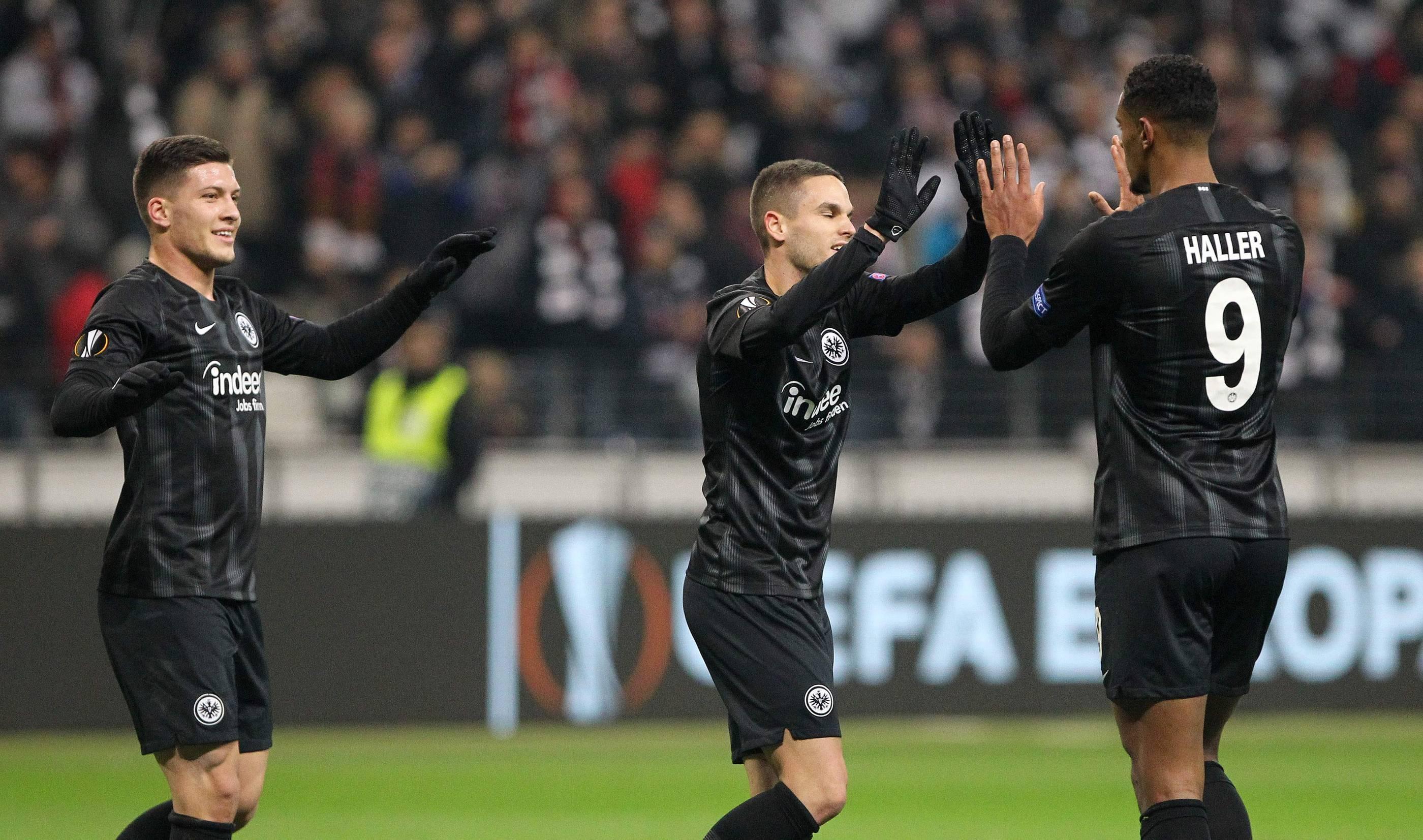 Eintracht Frankfurt Gegen Marseille