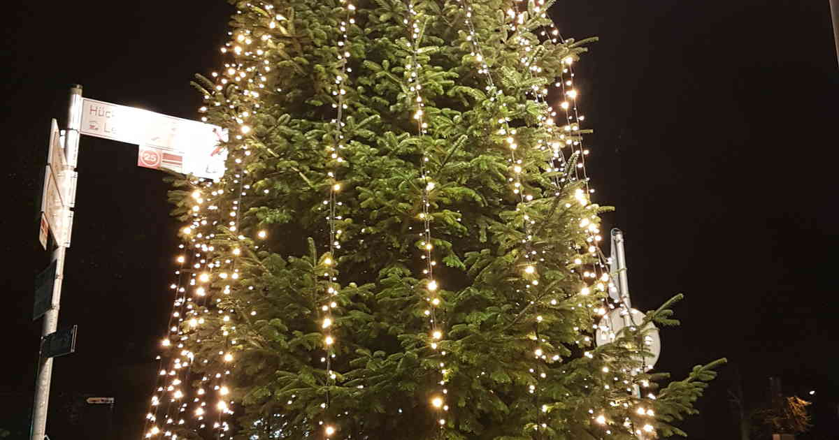 Weihnachtsbeleuchtung Zum Stecken.150 000 Lichter Erhellen Wermelskirchen