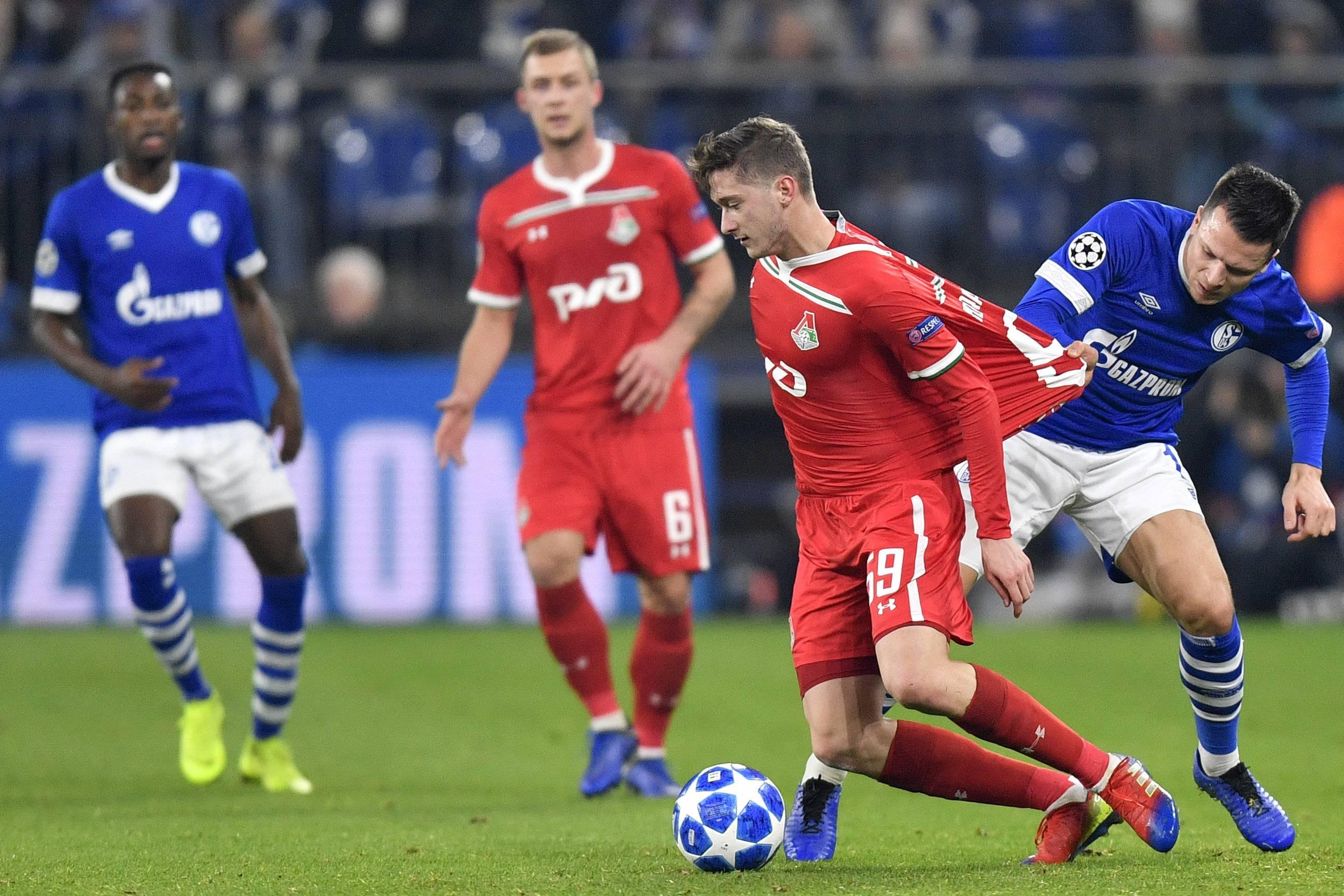 Lokomotive Moskau Schalke