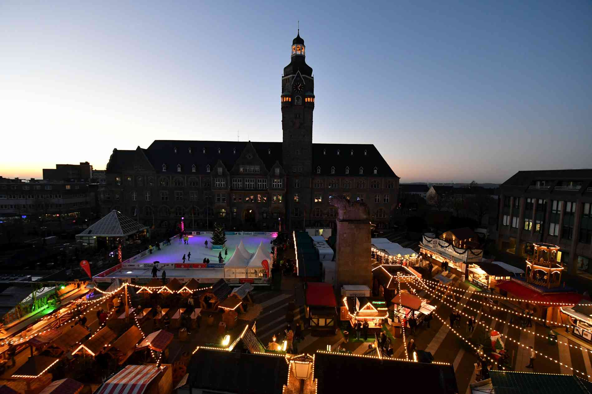 Straßburg Weihnachtsmarkt Schüsse
