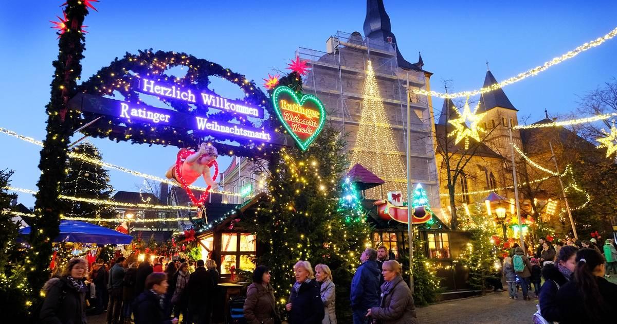 Weihnachtsmarkt Nach Weihnachten Noch Geöffnet Nrw.Ratingen Weihnachtsmarkt Hat Heiligabend Geöffnet