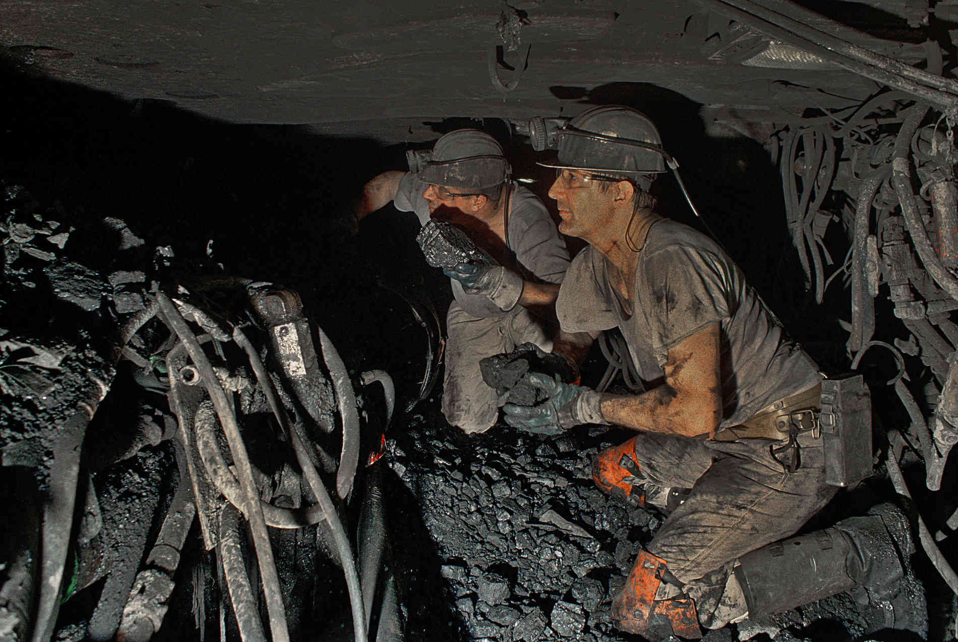Bergbau Abschied