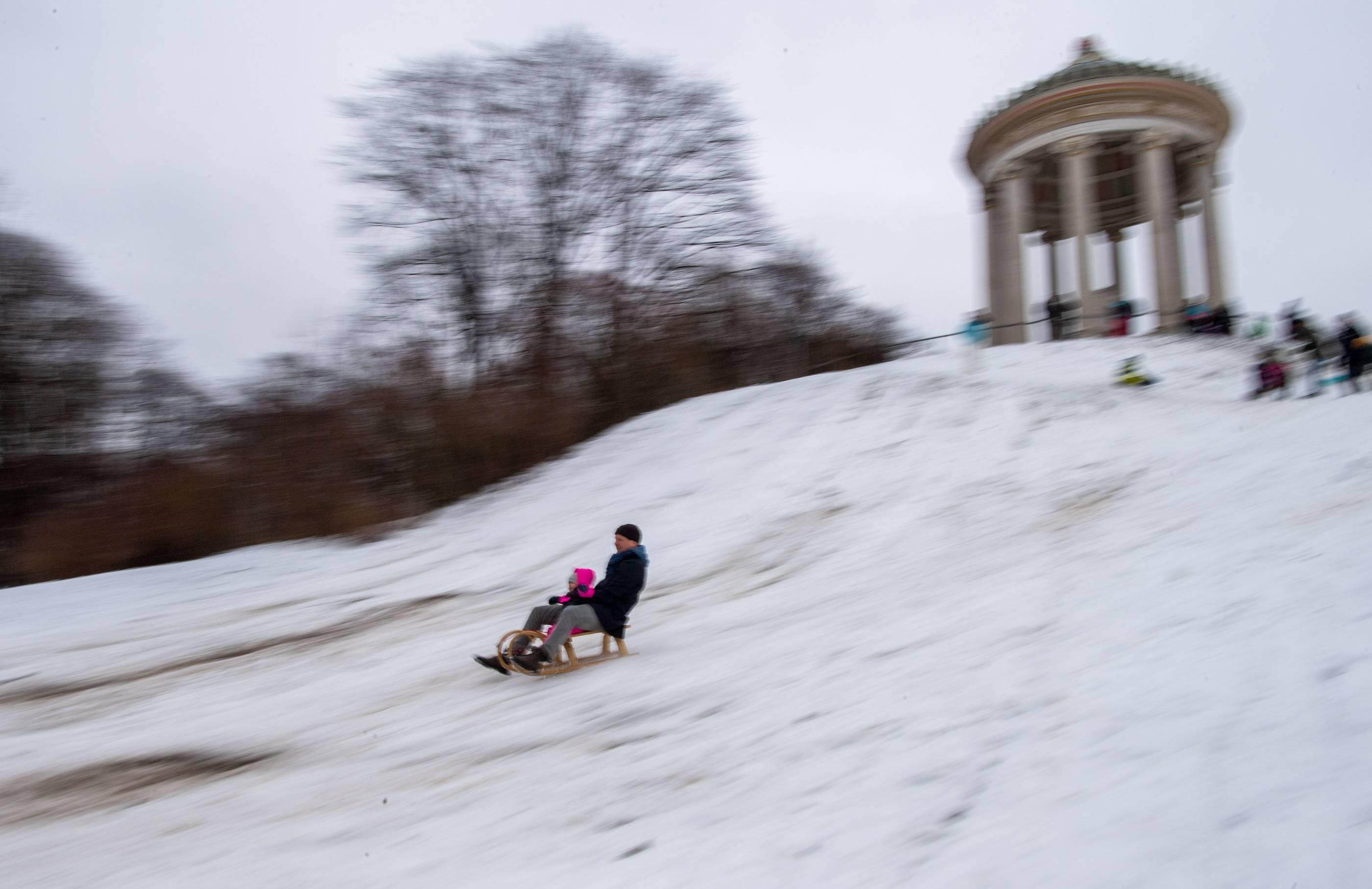 Wo Liegt Schnee In Bayern