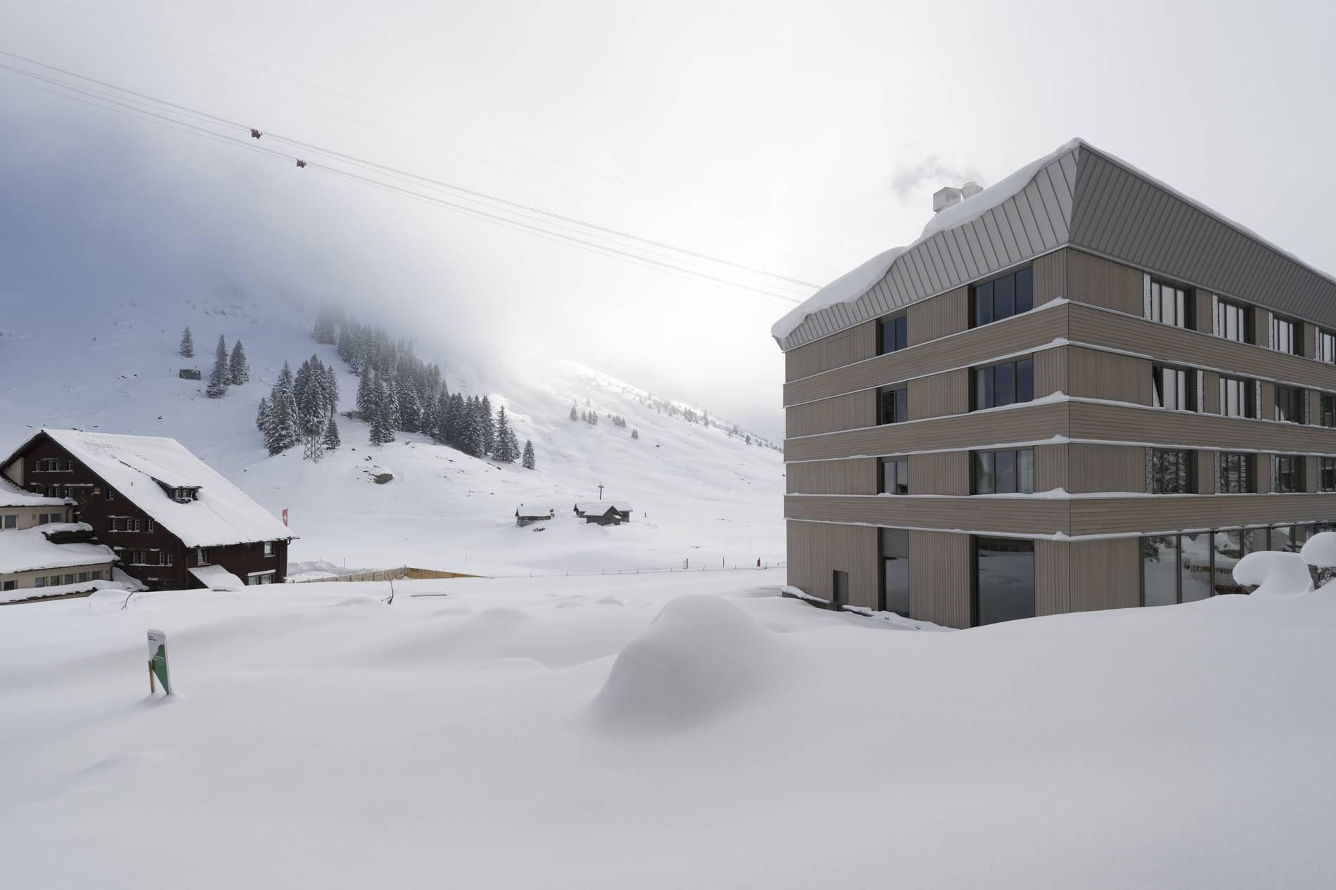 Schweiz Lawine