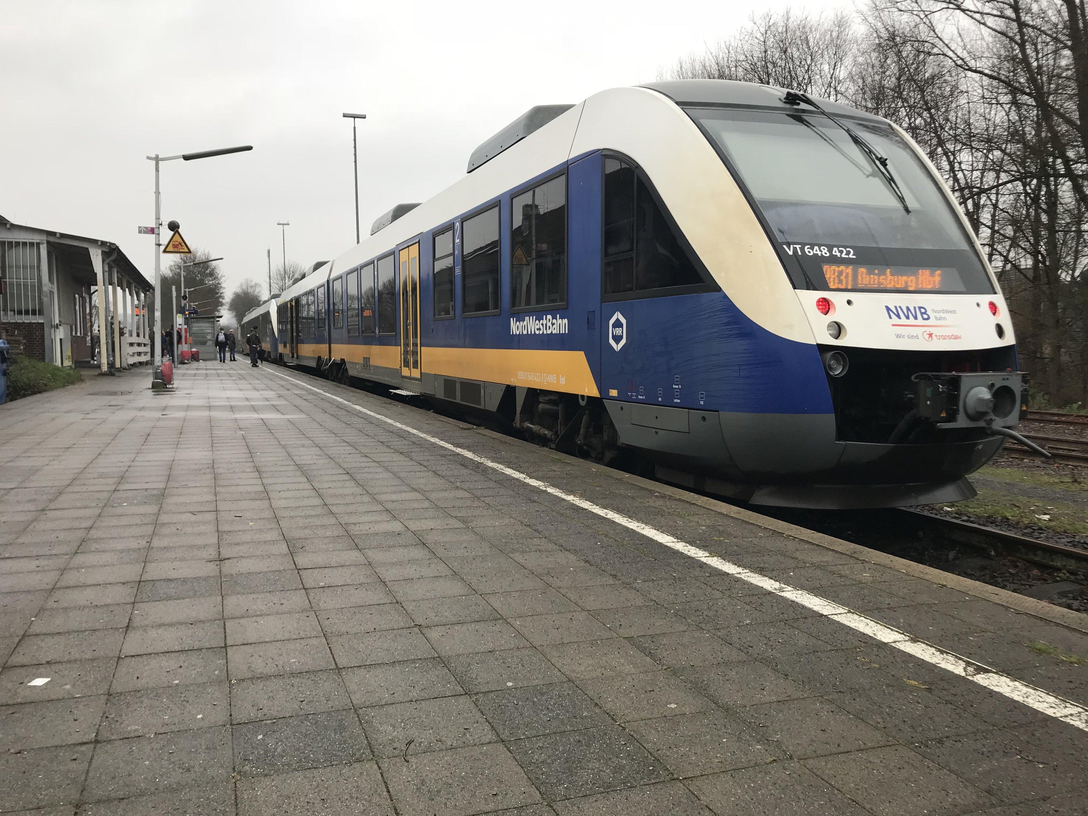 Rb 31 Für Xanten Duisburg Moers Rheinberg Vrr Fordert