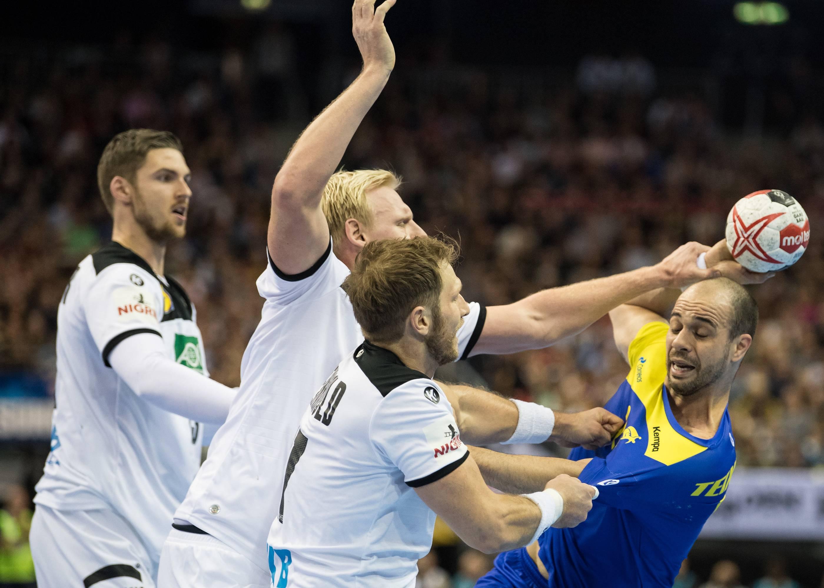 Handball Russland Deutschland
