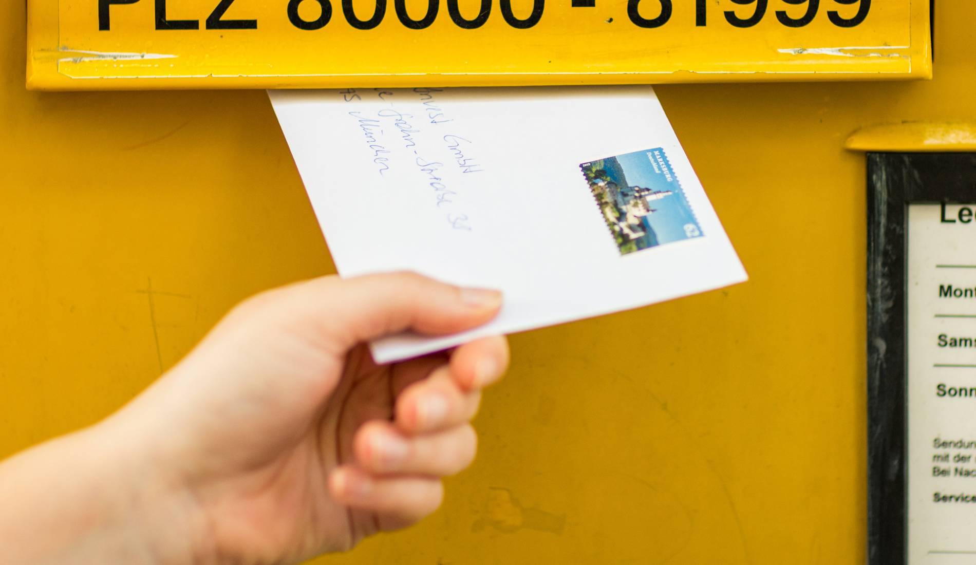Briefporto Die Deutsche Post Will Ab April 2019 Die Preise Erhöhen
