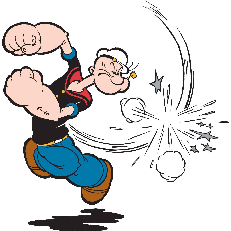 Comic Legende Spinat Held Popeye Feiert 90 Geburtstag