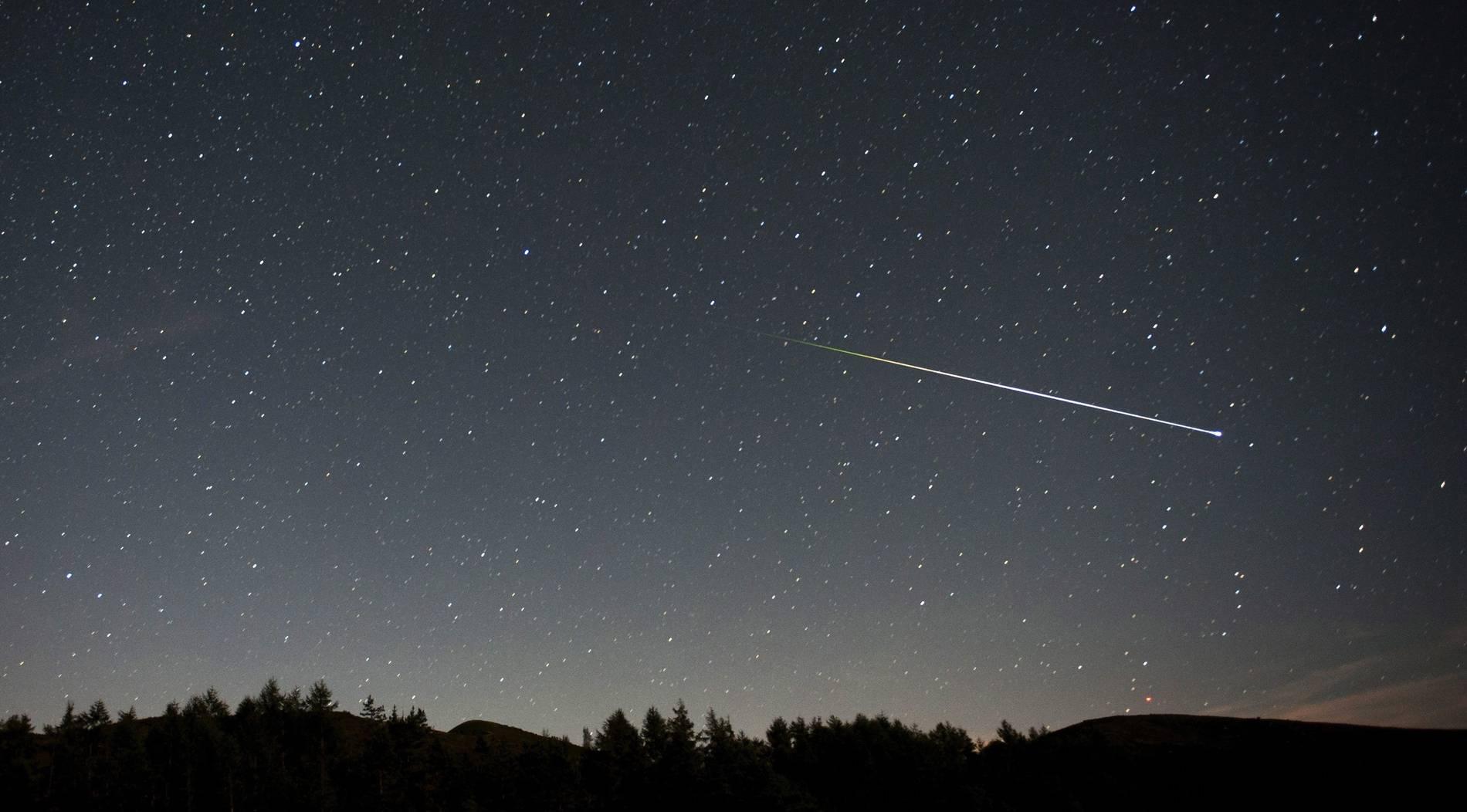 Bald gibt es Sternschnuppen auf Bestellung