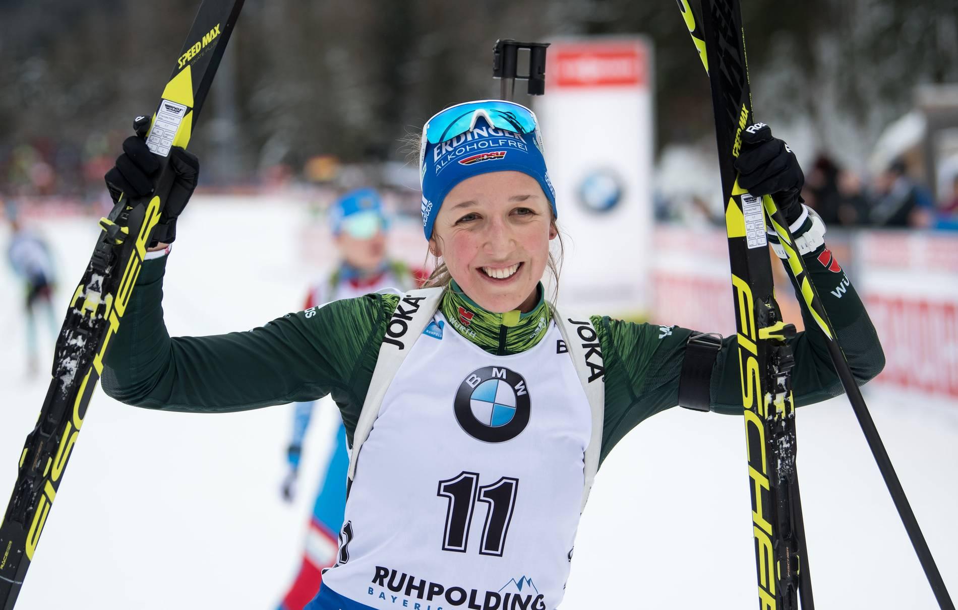 Biathlon Franziska Preuß