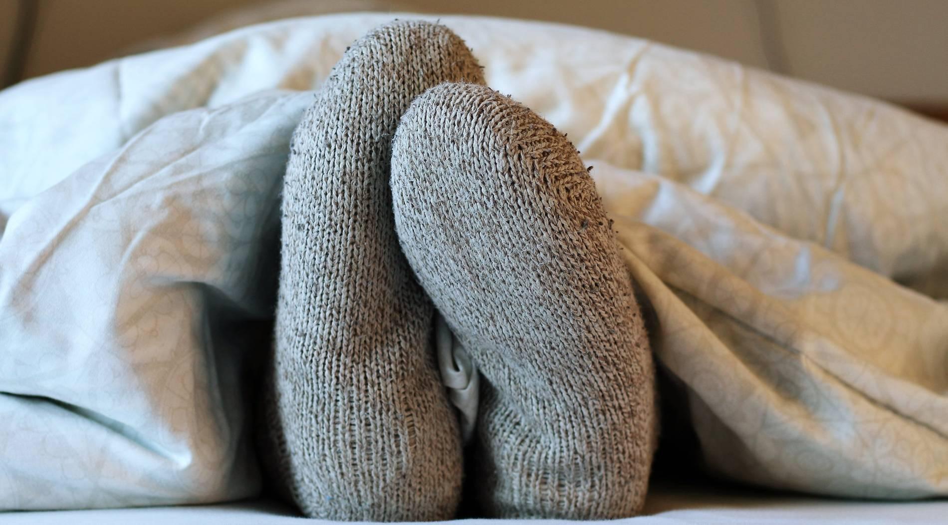 Socken im Bett haben nur Vorteile – auch beim Sex