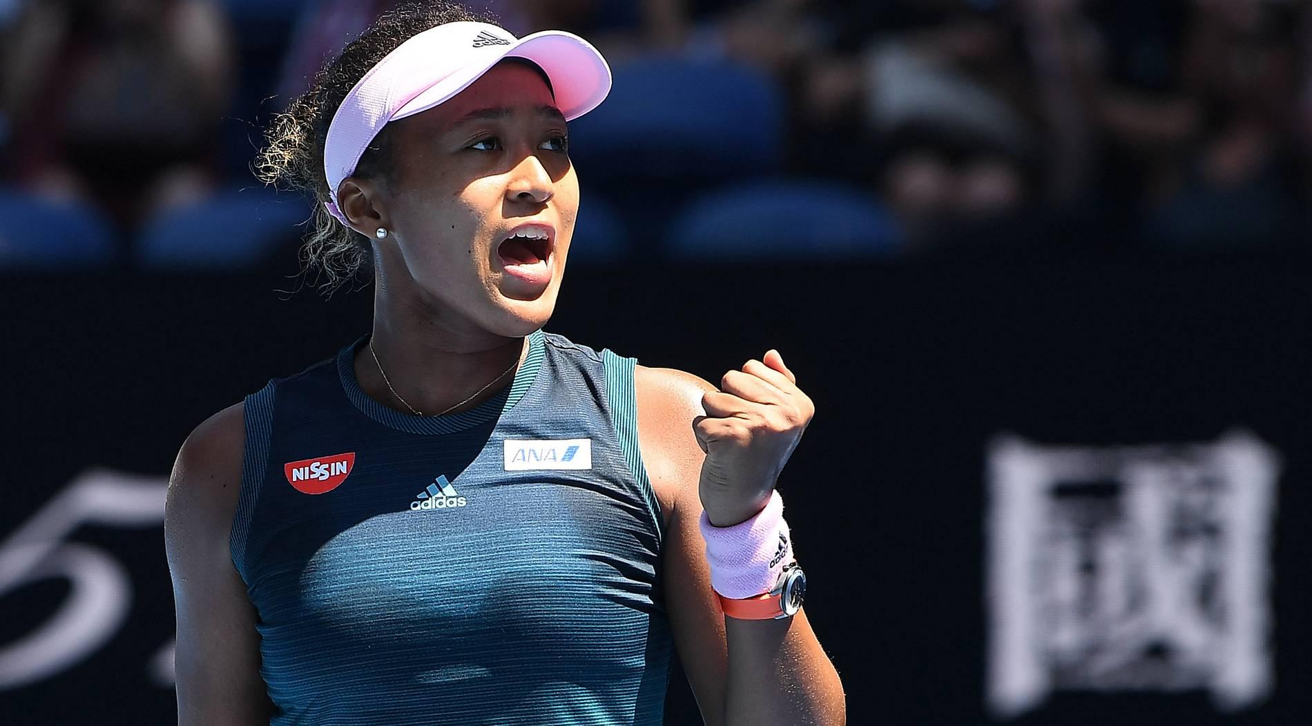 US-Open-Siegerin Osaka gratuliert Opa live im TV