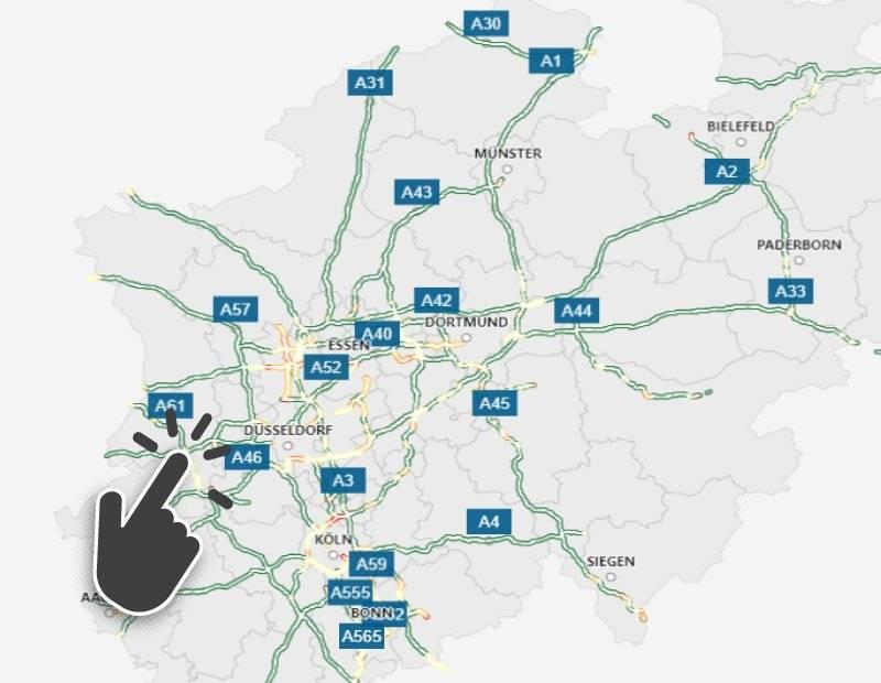 Geschwindigkeitsbegrenzung Autobahn Deutschland Karte.Tempolimit Auf Diesen Nrw Autobahnen Gibt Es Keine