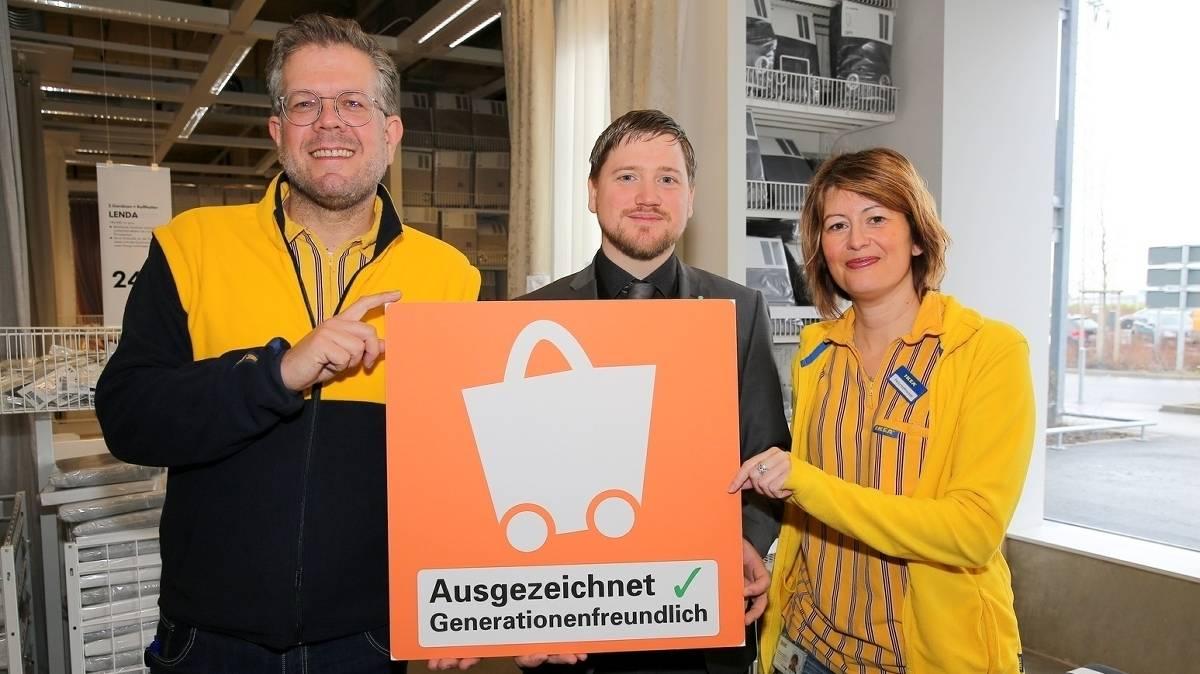 Nrw Handelsverband Zeichnet Ikea In Kaarst Aus