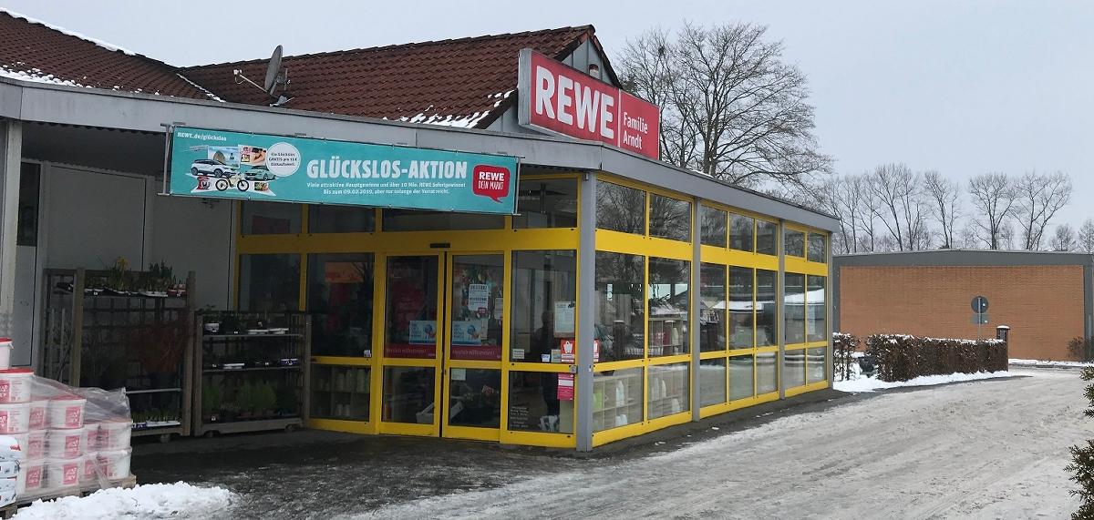 Arsbeck Rewe Markt Wird Modernisiert