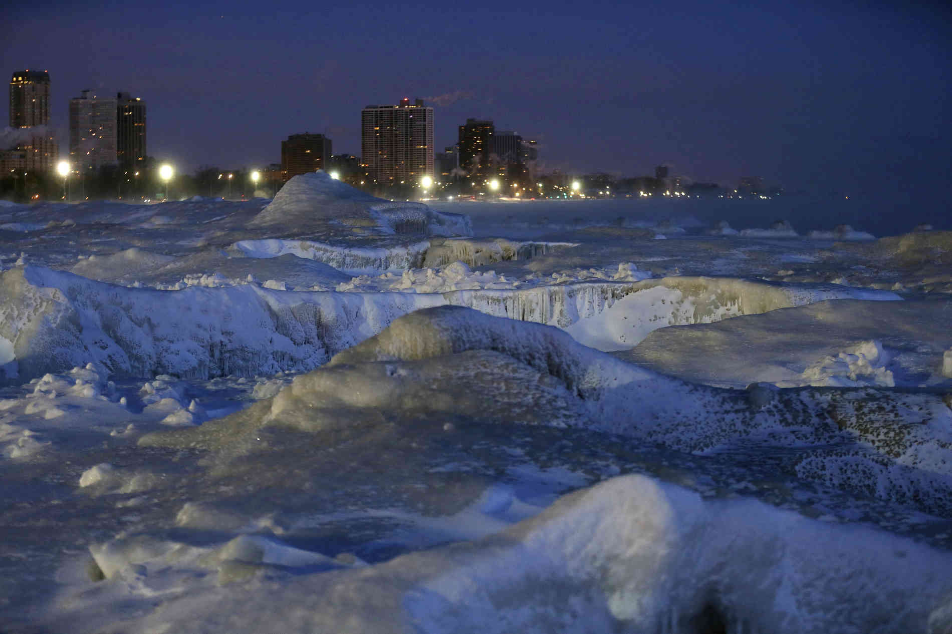 Polarwirbel - Acht Menschen sterben bei arktischen Temperaturen in den USA