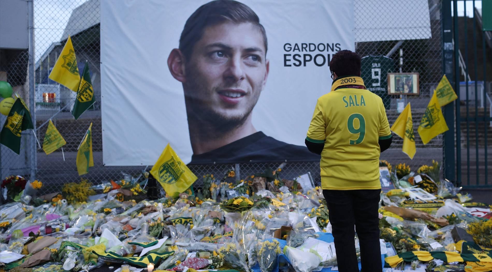Nantes will Geld für toten Sala