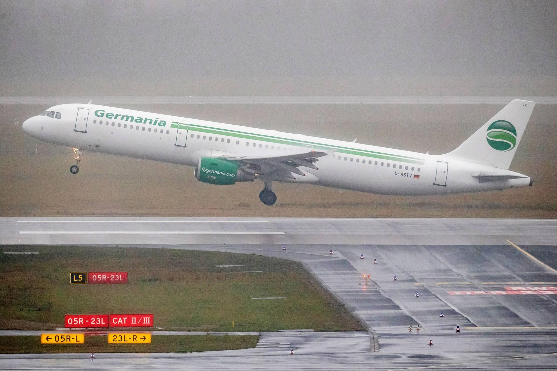 Germania beantragt Insolvenz und stellt Flugbetrieb ein