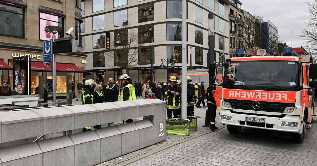 Polizei Düsseldorf Heinrich Heine Allee