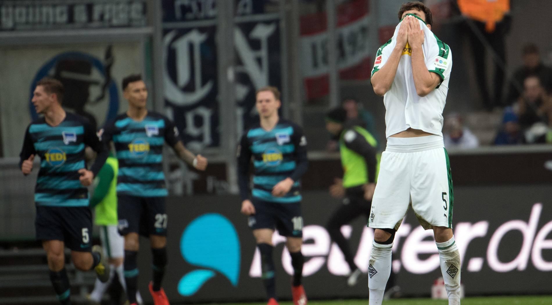 Borussia bleibt gegen Hertha im Rhythmus