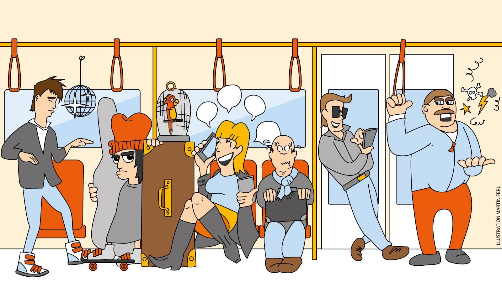 Dusseldorf Das Sind Die Nervigsten Typen In Bussen Und Bahnen