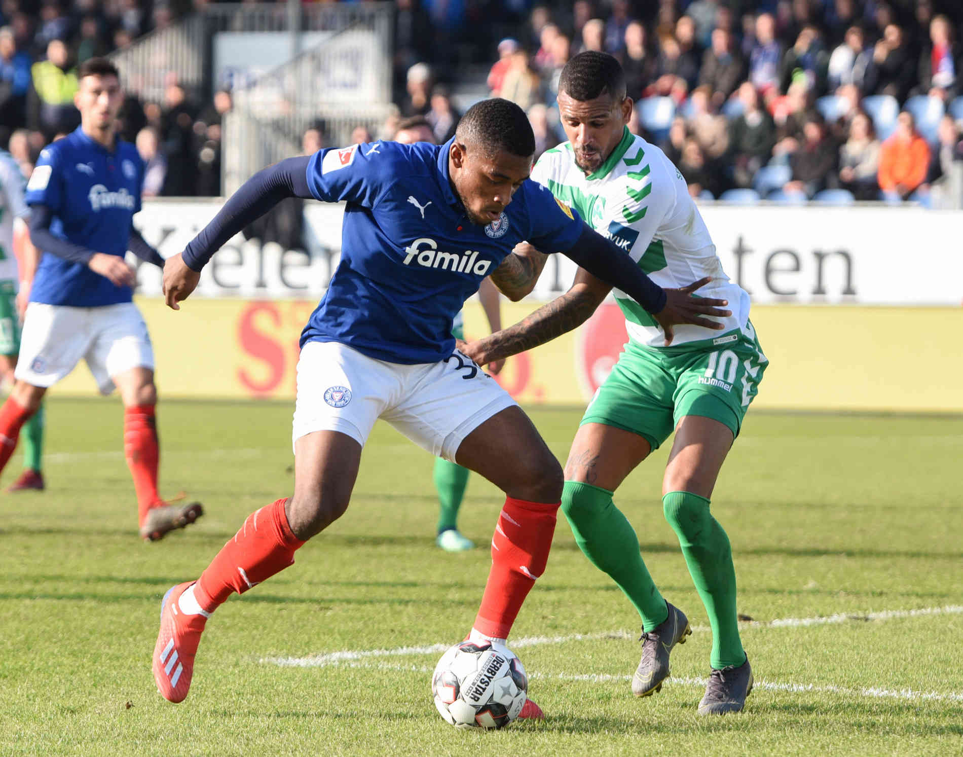 Holstein Kiel Und Spvgg Greuther Furth Trennen Sich 2 2