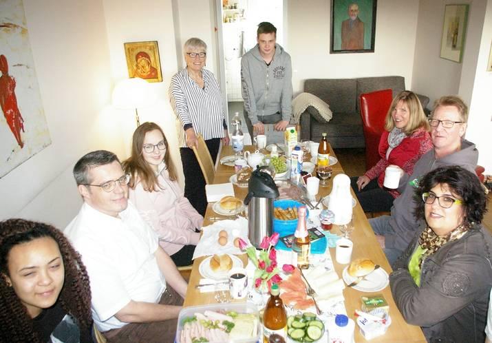 Als Belohnung für den Rupert-Neudeck-Gesamtschul-Award gab