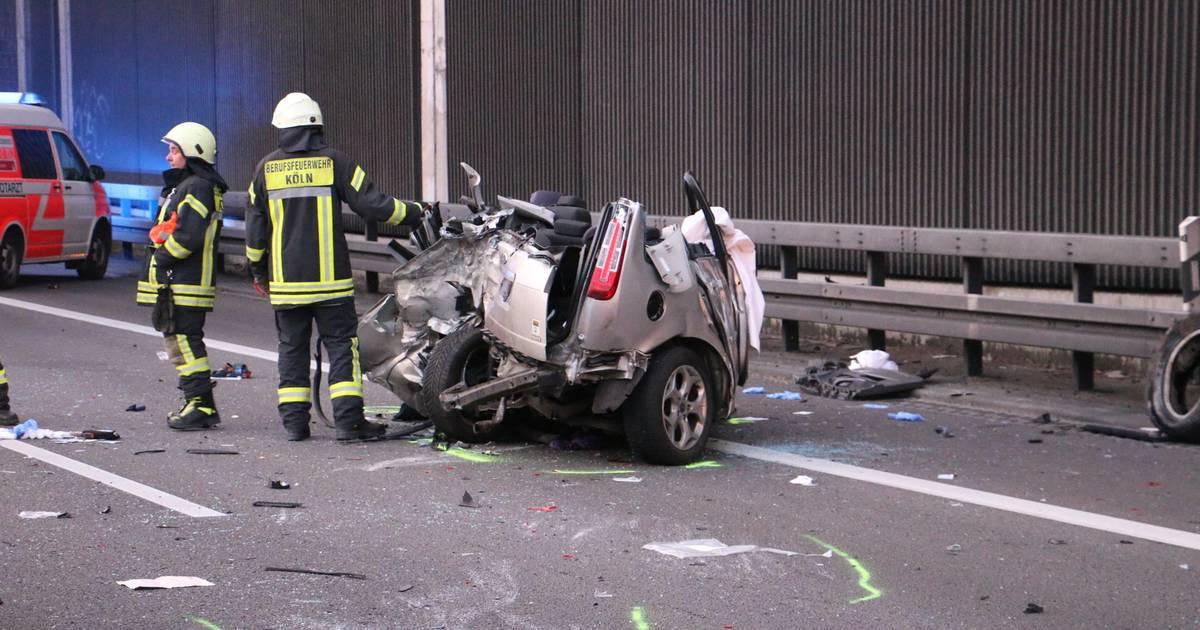 Unfall A3 Köln