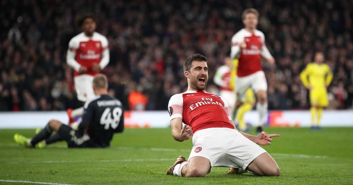 Europa League: FC Arsenal, RB Salzburg und SSC Neapel im Achtelfinale