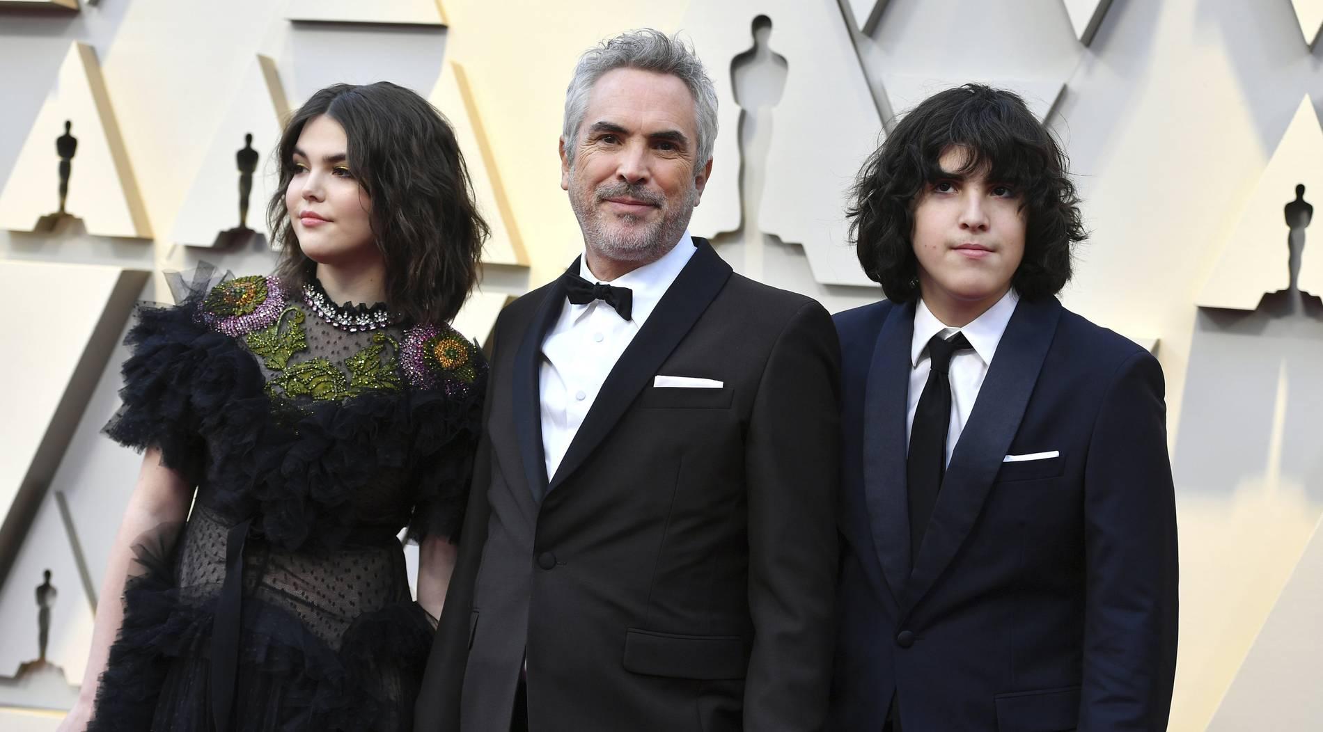So stehlen seine Kinder Oscar-Gewinner Alfonso Cuarón die Show