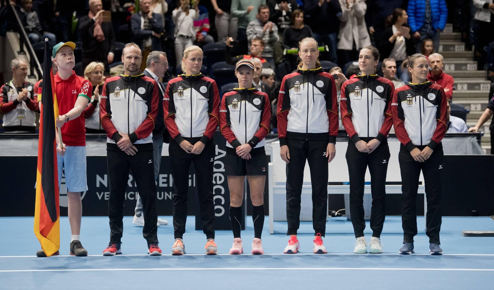 Fed Cup Deutschland Lettland