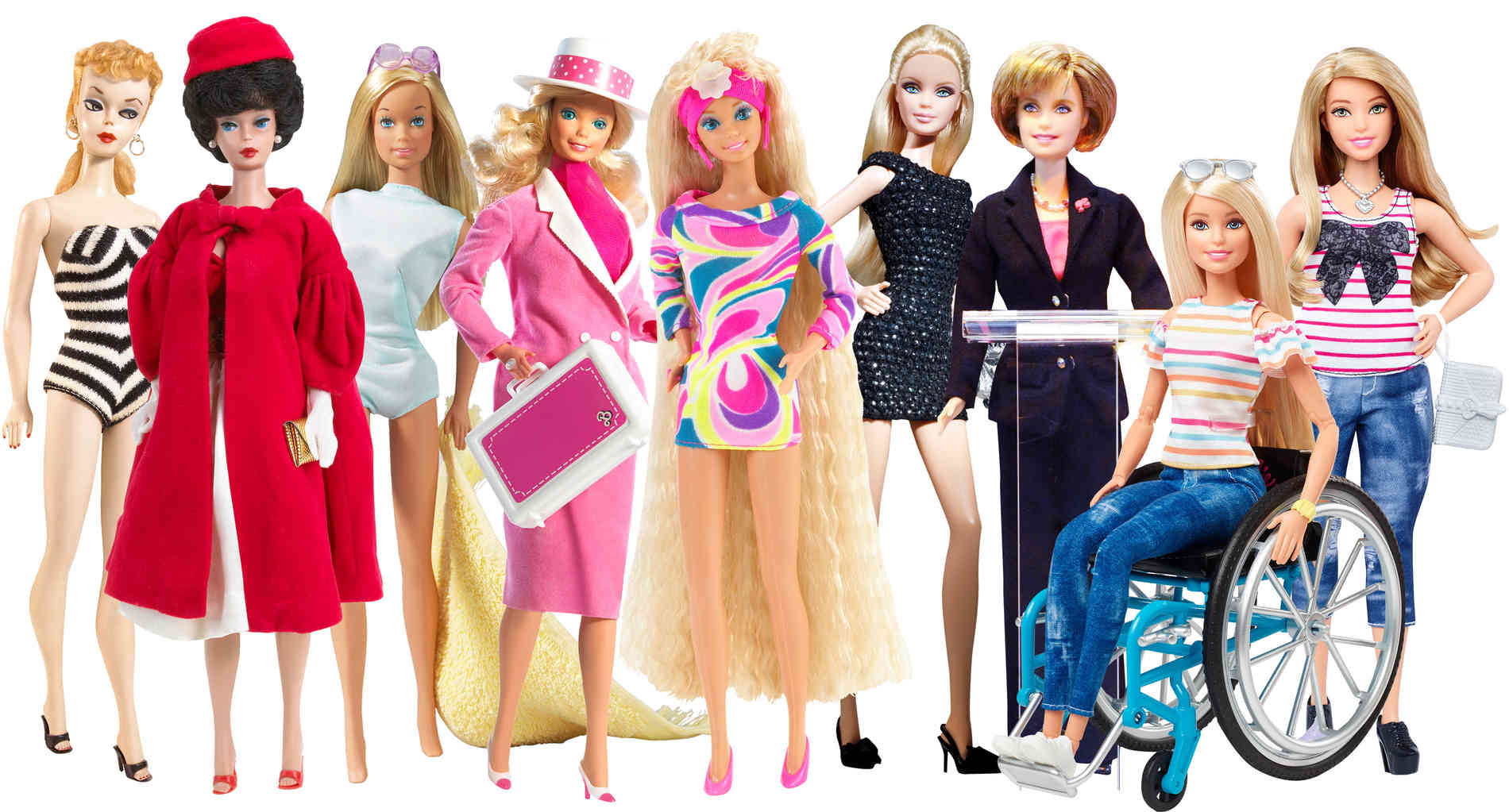 Trash Tussi Pink Barbie Wird 60 Evergreen Von Mattel