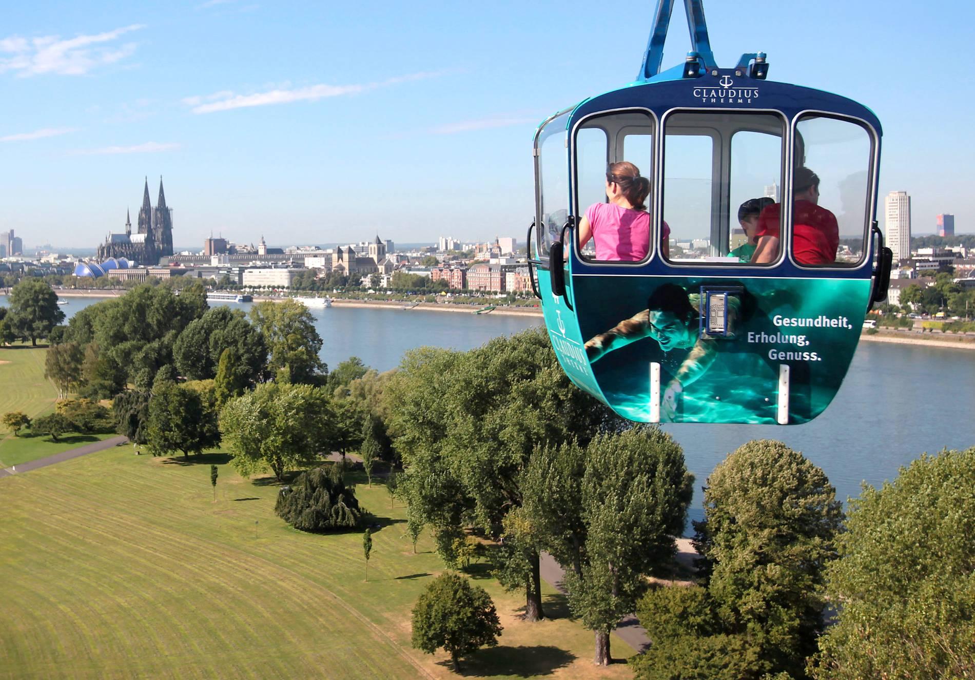Köln: Seilbahn soll spätestens zu Ostern 2019 wieder fahren