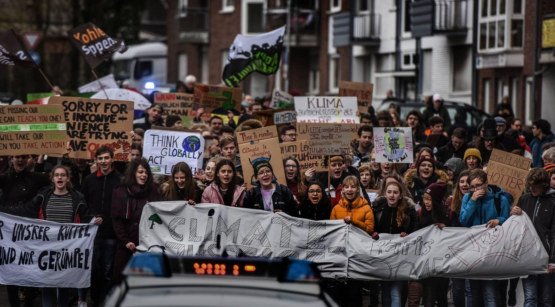 Klever Klima-Streik: jung, laut und grün