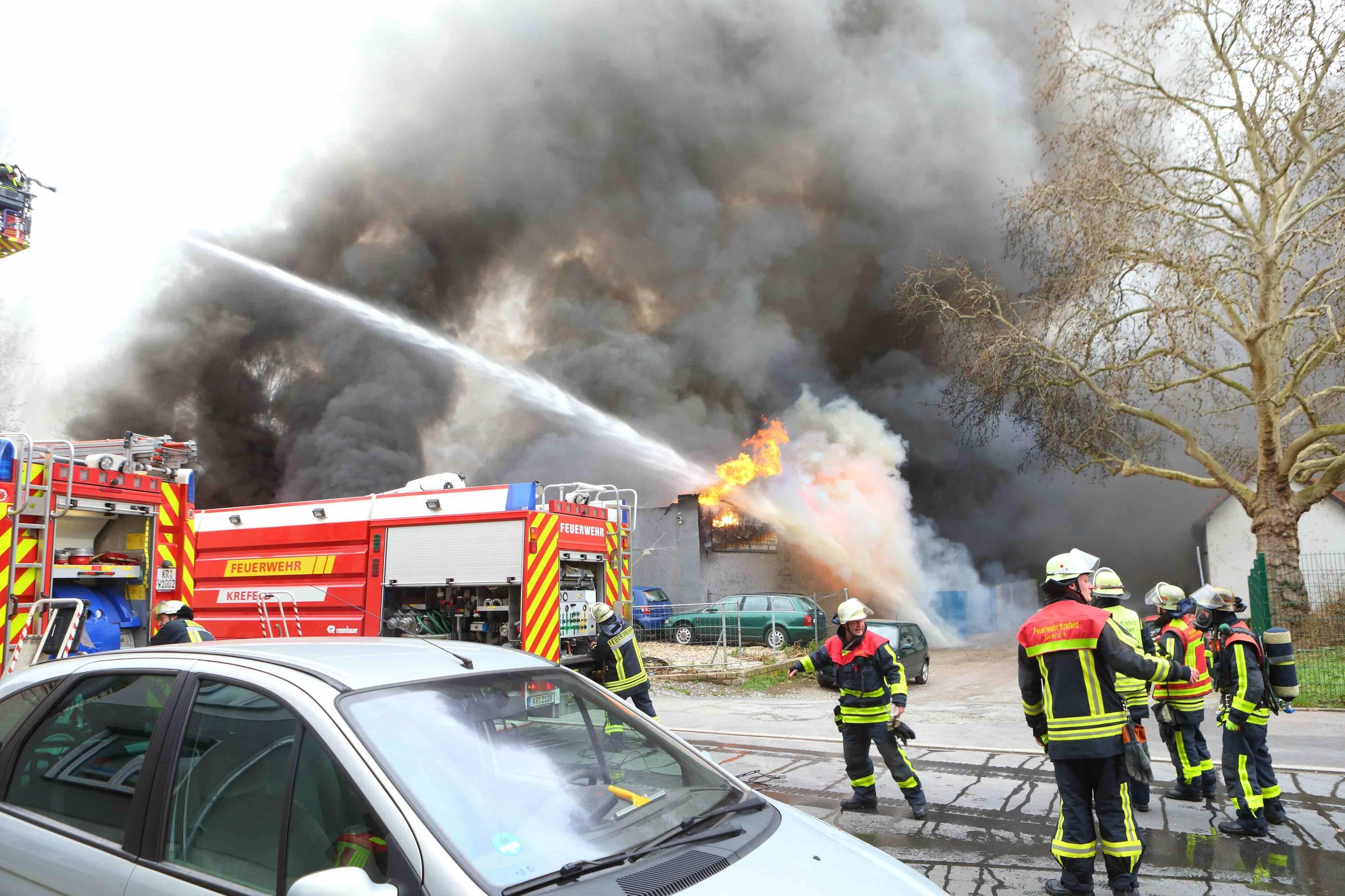 Feuer Krefeld