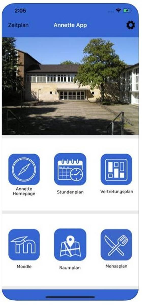 Annette Von Droste Hülshoff Gymnasium Benrath Hat Eigene App