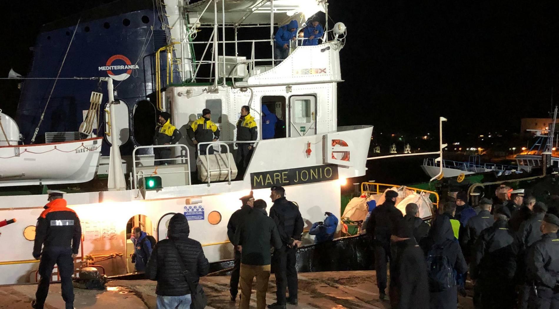"""Italien beschlagnahmt Rettungsschiff """"Mare Jonio"""""""