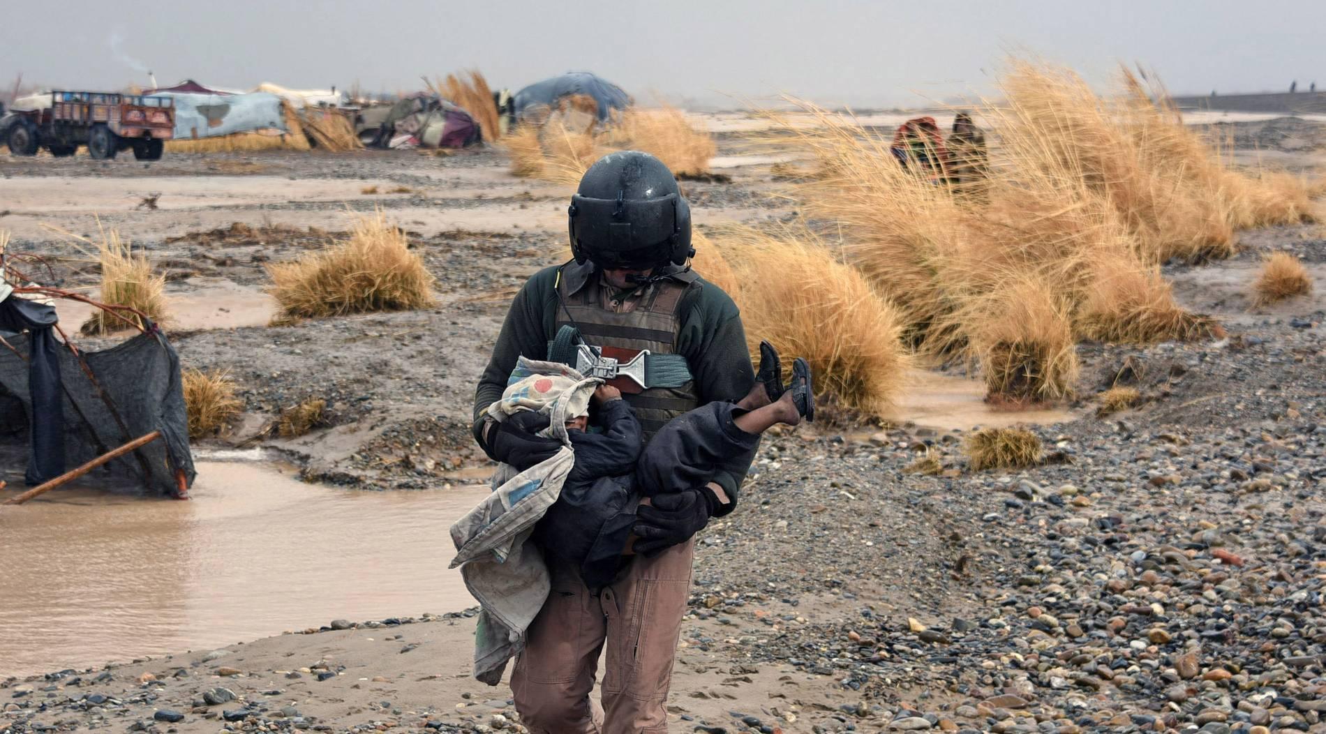 Mehr als 120.000 Menschen in Afghanistan von Überflutungen betroffen
