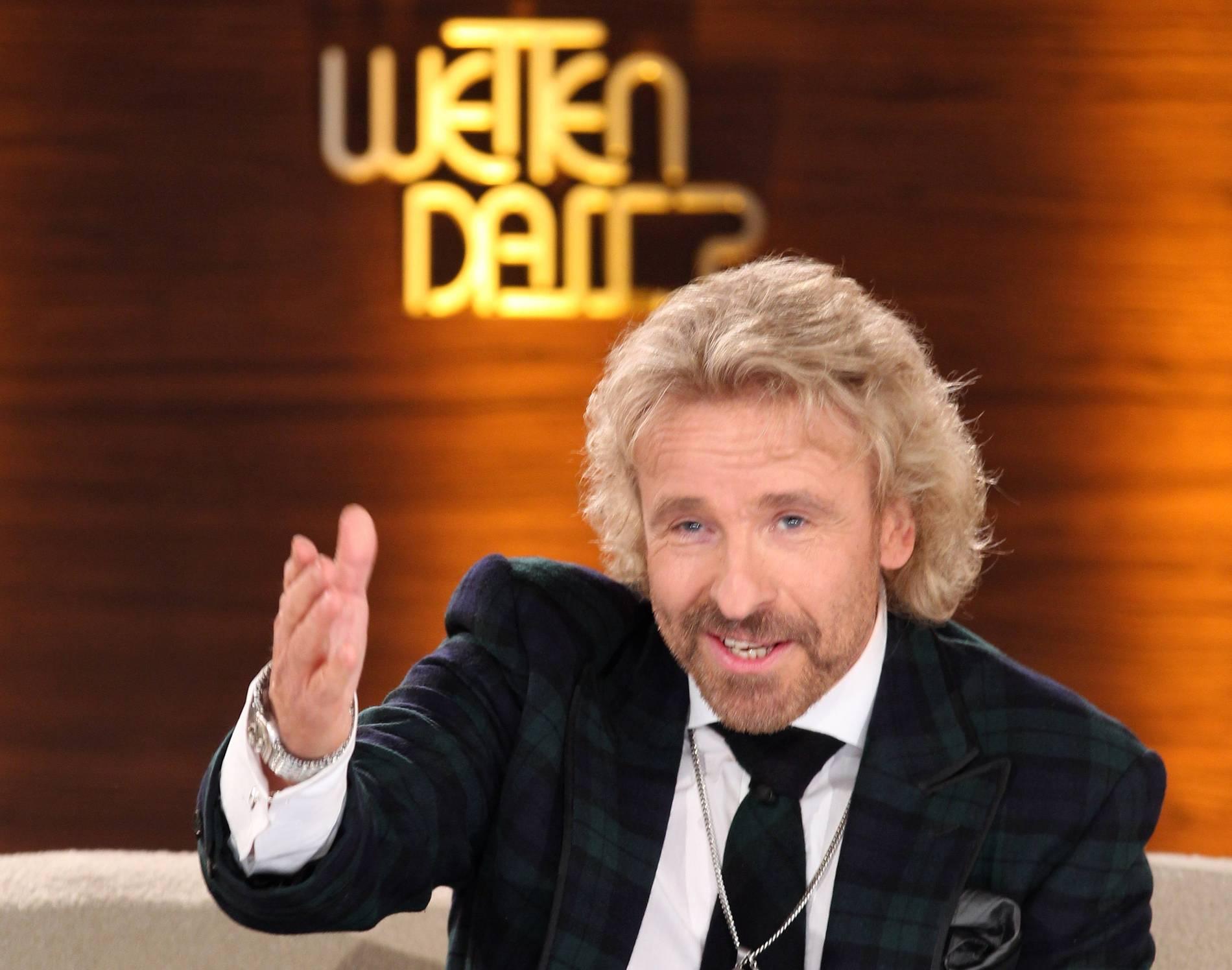 TV-Comeback bestätigt: Thomas Gottschalk macht noch einmal